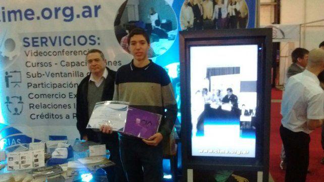 Distinguidos. En Esperanza recibieron el segundo premio.