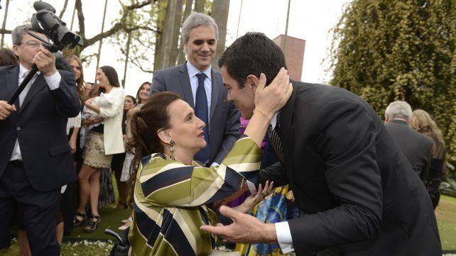 Las fotos del casamiento de Urtubey y Macedo