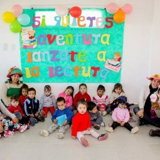 potencian la literatura en los jardines maternales