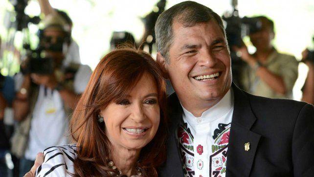 Cristina Kirchner viaja el jueves a Ecuador para brindar una conferencia y dar su apoyo a Correa