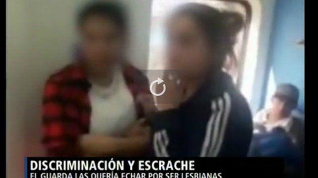 Escándalo en el tren Mitre: un guardia quiso bajar a dos chicas por besarse
