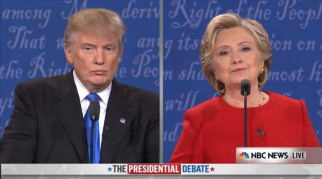 EN VIVO   El primer debate presidencial entre Hillary Clinton y Donald Trump