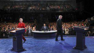 Hillary Clinton ganó el primer round, según los sondeos
