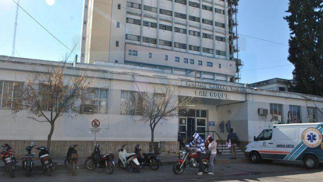Contención y asistencia. En el hospital se dispuso el protocolo para casos de abusos sexual.