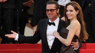 Angelina Jolie y Brad Pitt antes deldivorcio.