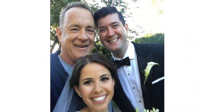 Tom Hanks fue el protagonista del regalo de casamiento menos esperado