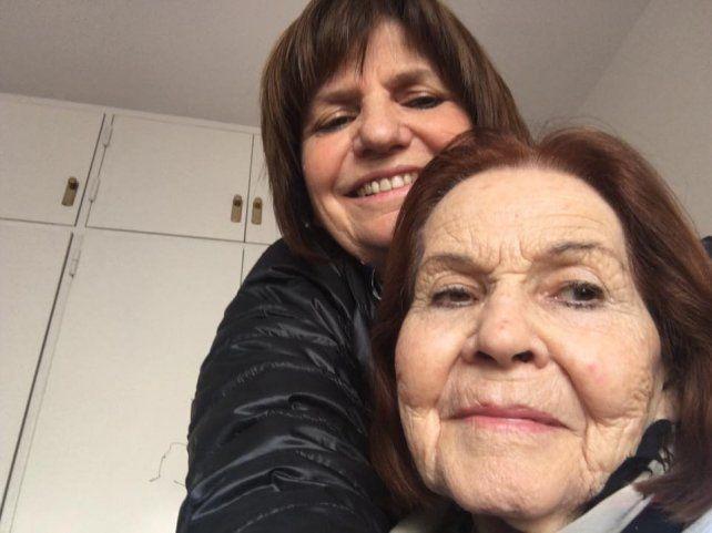 El último adiós de Bullrich a su mamá en Facebook