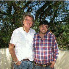 Pancho Dotto y Adrián Fuertes, distendidos en Libertador San Martín