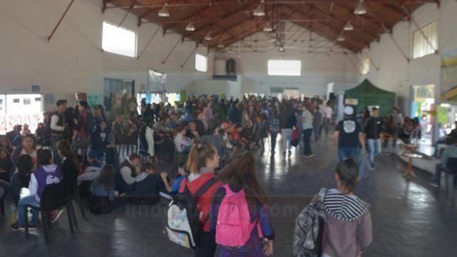La actividad se realizó en la Sala Mayo