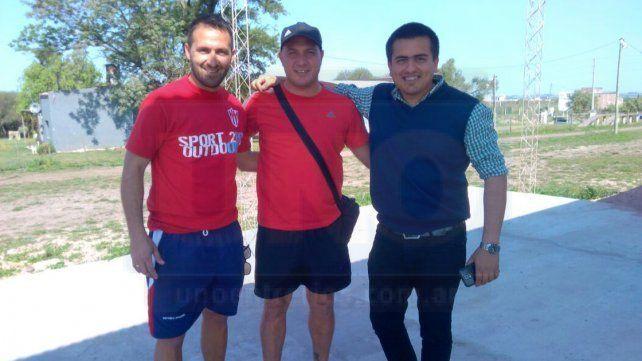 El Tincho Benítez dirigió su primera práctica en el equipo liguista Decano