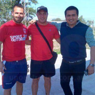 el tincho benitez dirigio su primera practica en el equipo liguista decano