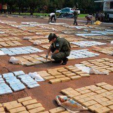 Incautaron más de 6.000 kilos marihuana en ruta nacional 12