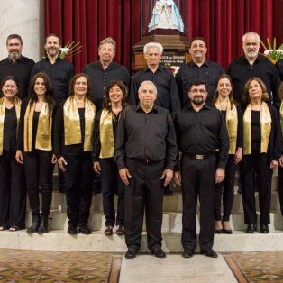 Trayectoria. La Schola Cantorum fue creada en 1990 y su repertorio es de carácter religioso.