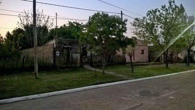 Cerrada. La vivienda donde vive Zanabria permaneció cerrada ayer una vez culminadas las pericias.