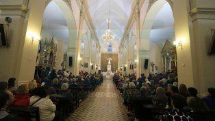 En la misa de San Miguel, Puíggari pidió por los pobres y los desocupados