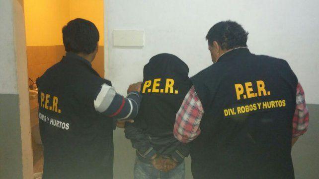 Ortiz. Al detenido en Santa Fe lo trasladaron anoche a Paraná.