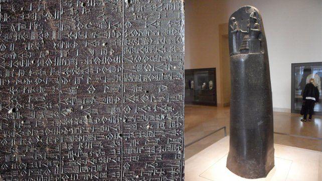 El Código de Hammurabi.