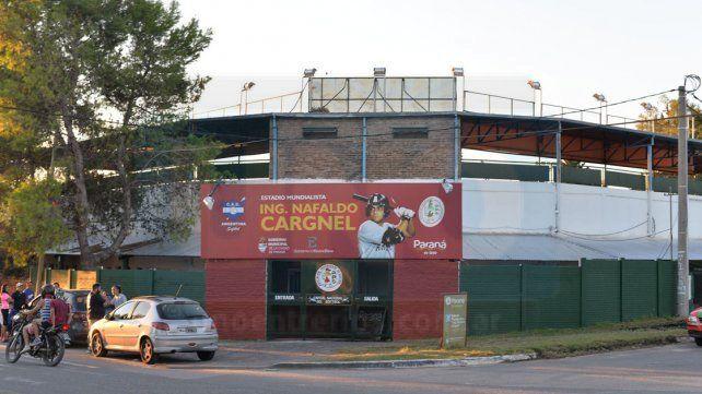 La cita se desarrollará en el Estadio Nafaldo Cargnel.