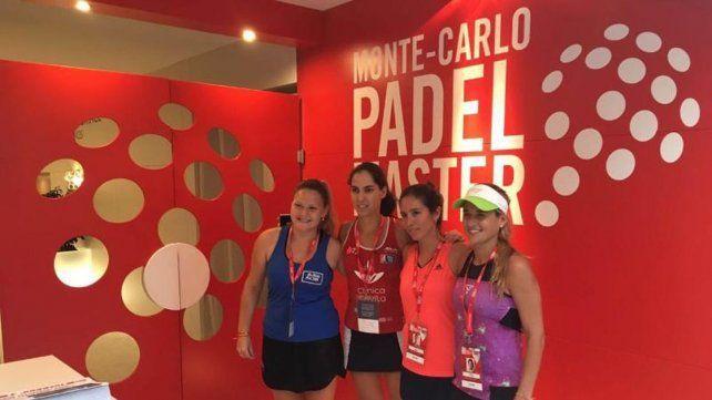 Torneos de nivel. La paranaense afrontó en España tres competencias durísimas: Monte Carlo