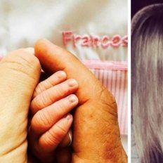 Nació Francesca, la hija del Cholo Simeone y la entrerriana Carla Pereyra