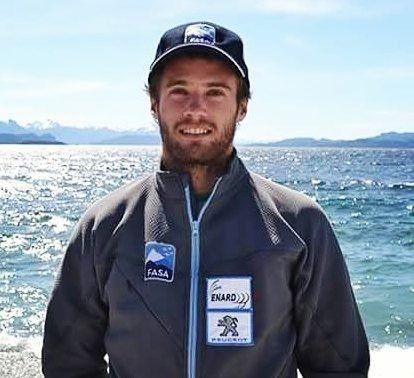 El argentino Sebastiano Gastaldi campeón sudamericano de slalom