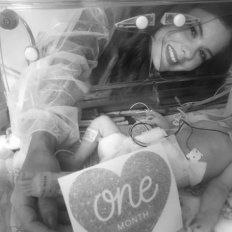 Murió Victoria, la bebé de un mes del cantante Wisin