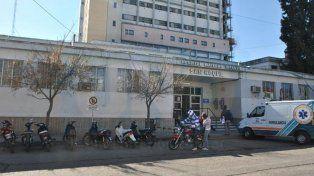 Estables, pero delicados. Los cuatros niños fueron asistidos de urgencia en el San Roque.