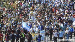En Luján, monseñor Poli llamó a no ser indiferentes ante la pobreza