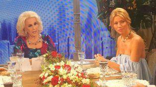 En lo de Mirtha, Nicole Neumann dijo que Pampita es agresiva