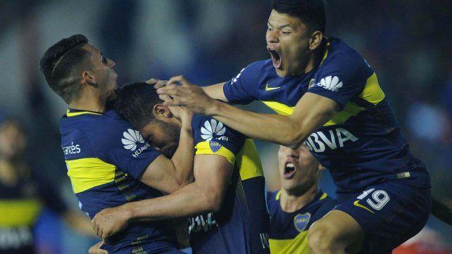 Boca rescató un punto frente a Tigre en Victoria cerca del final