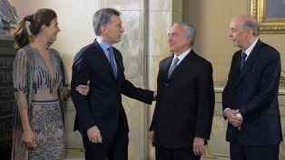 Dato. Es la primera reunión formal bilateral de los presidentes.