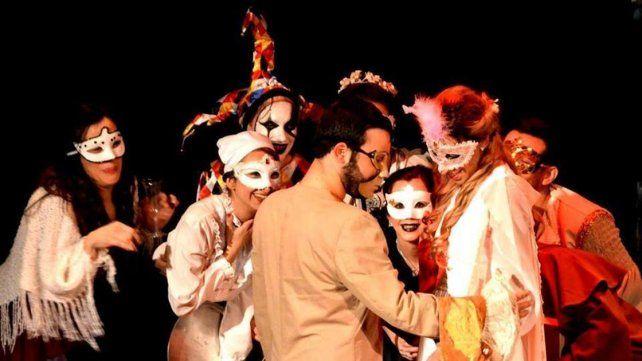 Segunda vuelta. La obra fue reestrenada en el Encuentro de Teatro de Diamante.