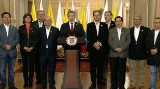 El presidente de Colombia aseguró que el cese al fuego sigue y seguirá vigente