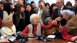 Abuelas de Plaza de Mayo anuncia el encuentro del nieto 121