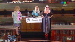 Silvia Süller en lo de Susana Giménez: topless, sexo pago y anécdota con Cacho Castaña