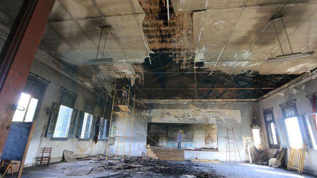 La obra de reparación de la escuela Rivadavia llevará un año y los chicos no serán trasladados