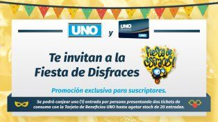 Diario UNO te invita a la Fiesta de Disfraces