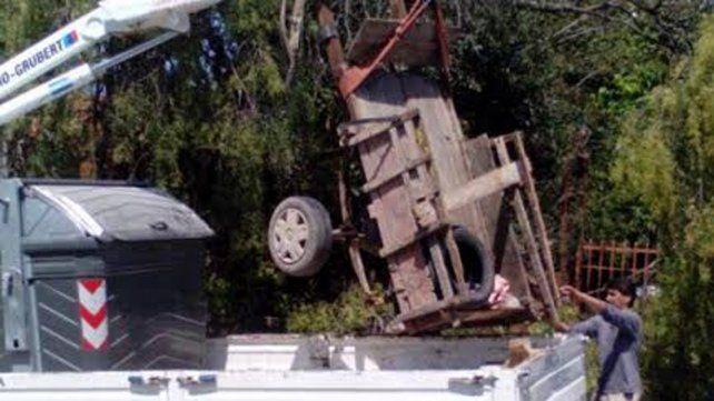 La Municipalidad secuestró otra yegua golpeada