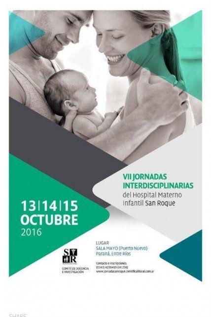 Organizan las VII Jornadas Científicas del hospital materno infantil San Roque