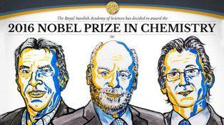 El premio Nobel de Química 2016 fue para los inventores de las máquinas moleculares
