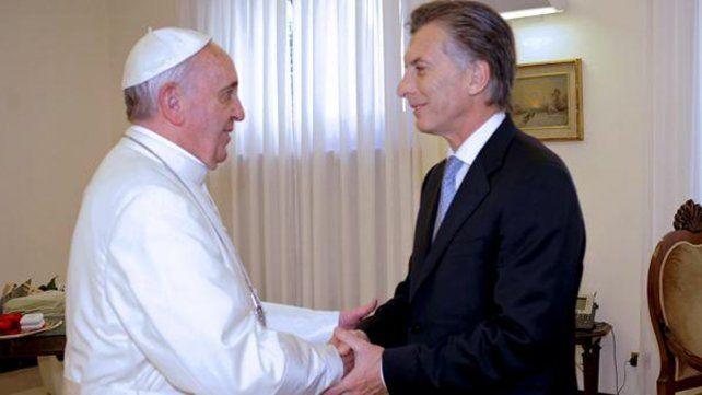 El Papa eligió el salón para la reunión con Macri: a qué líderes mundiales recibió allí