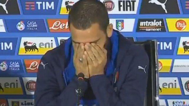 Leonardo Bonucci se quebró al hablar de su hijo enfermo