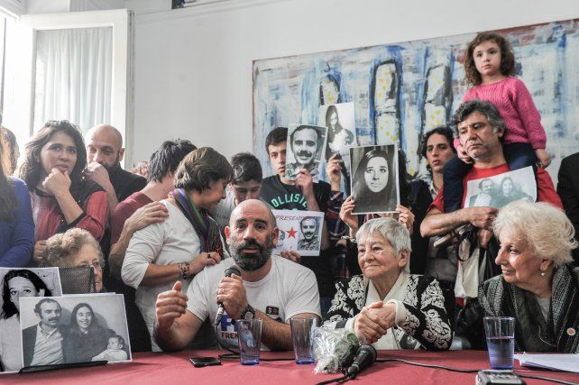 Abuelas anunció la recuperación del nieto 121