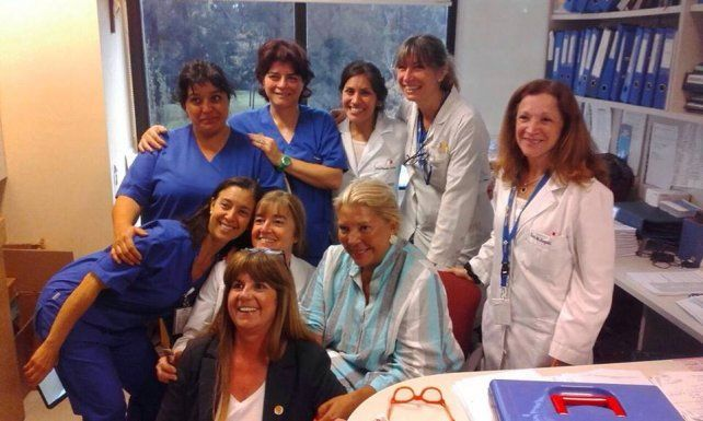 Elisa Carrió recibió el alta médica tras la angioplastia