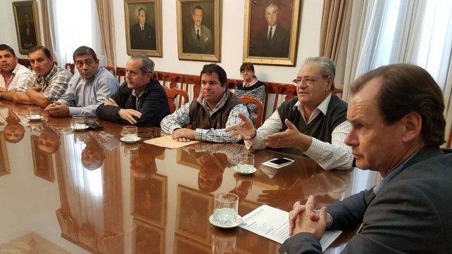Bordet realizará gestiones ante Nación en apoyo a los trabajadores de la carne
