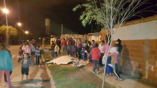 Alrededor de 1.000 personas concurrieron a las ollas populares en Entre Ríos para pedir más trabajo
