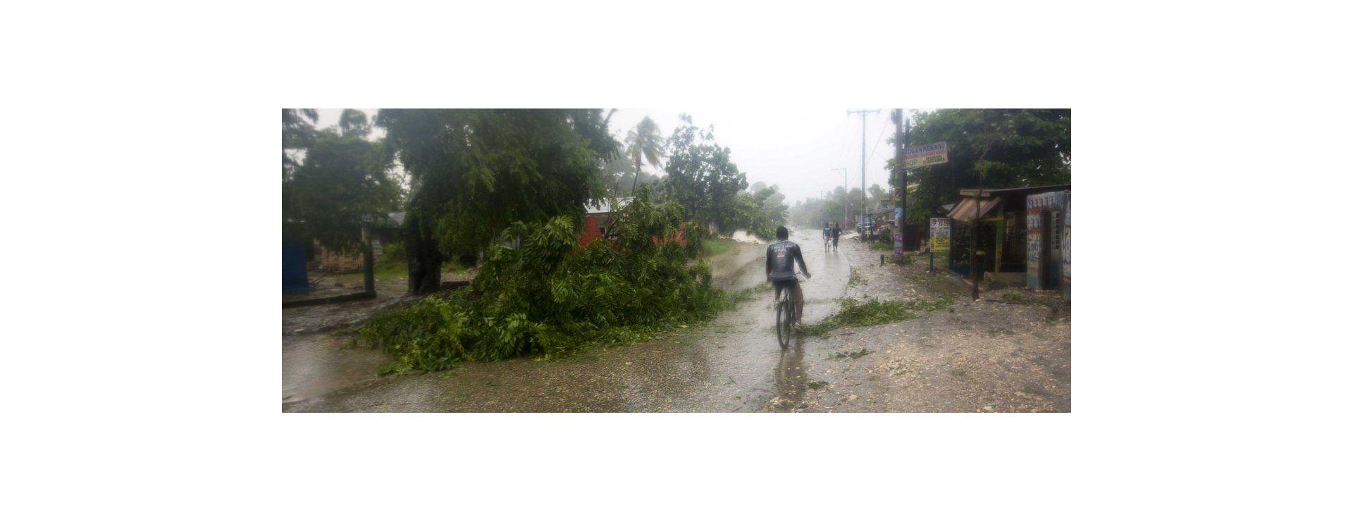 El huracán Matthew, la tormenta más poderosa que golpea el Caribe en casi una década