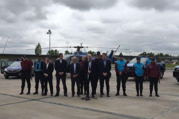El Gobierno de Larreta ploteó un helicóptero de SAME y lo presentó como uno de la Policía