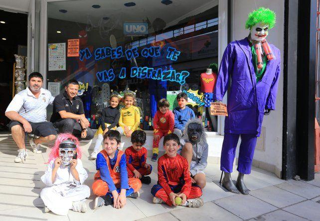 Se viene la tercera fiesta de disfraces para niños en el CAE