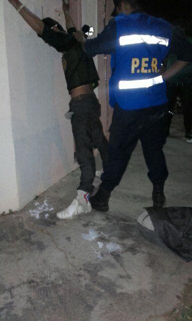 Detenido con cocaína